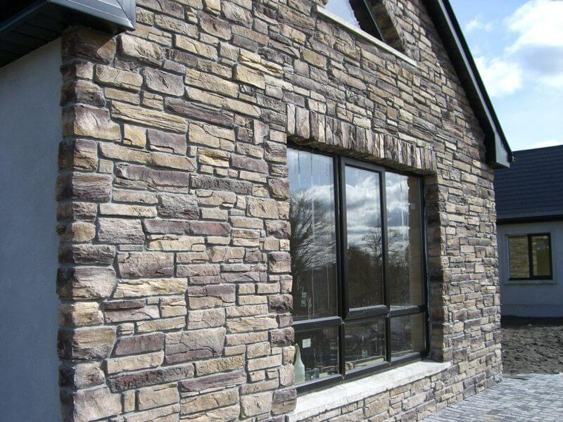 How To Install Natural Stone Veneer On The Exterior Walls Ecosol Stone